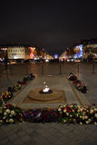 Tomb of the Unknown Soldier, Arc de Triomphe, Paris, December arc. Arc de Triomphe, Paris, Champs-Élysées, tomb Stock Photos