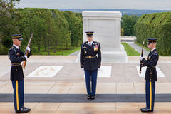 Tomb of Unknown Soldier Arlington Royalty Free Stock Images