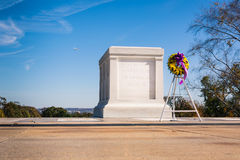 Tomb of the Unknown Soldier Closeup Patrol Guard November 2016 B Royalty Free Stock Photography