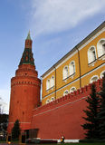 Tomb of the Unknown Soldier and Kremlin wall, Moscow, Russia Royalty Free Stock Photography