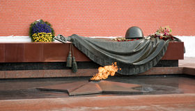 Tomb of Unknown Soldier, Moscow Royalty Free Stock Image