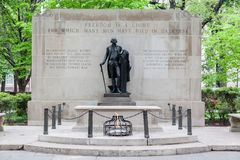 Tomb of the Unknown Soldier Philadelphia Royalty Free Stock Photos