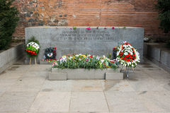 Tomb of the Unknown Soldier in Sofia, Bulgaria Royalty Free Stock Image