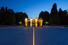 Tomb of the Unknown Soldier in Warsaw royalty free stock photography