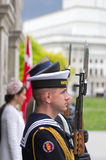 Tomb of the Unknown Soldier, Warsaw Royalty Free Stock Photo