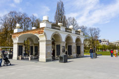 Tomb of the unknown soldier in Warsaw Stock Images