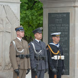 Tomb of the Unknown Soldier, Warsaw Stock Photography
