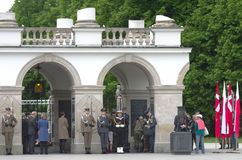 Tomb of the Unknown Soldier, Warsaw Stock Photos