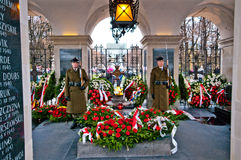 Tomb of the Unknown Soldier, Warsaw Royalty Free Stock Image