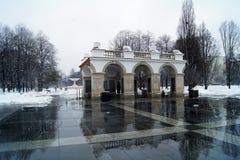 Tomb of the unknown soldier. Warsaw Saski garden Stock Photo