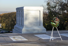 Tomb of the Unknown Soldier and Wreath Stock Images