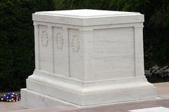 Tomb of the Unknown Soldiers. In Arlington National Cemetery, Arlington, VA Stock Photo