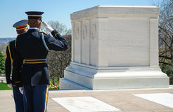 Tomb of the Unknowns Stock Images