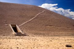 Tomb in Valley of the Kings Royalty Free Stock Photography