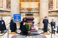 Tomb of the Victor Emmanuel II Stock Images