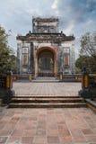 Tu Duc emperor tomb in Hue Vietnam. Tomb of Vietnam emperor Tu Duc in Hue stock images