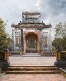 Tu Duc emperor tomb in Hue Vietnam. Tomb of Vietnam emperor Tu Duc in Hue stock photography