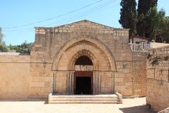 Tomb of the Virgin Mary Facade, Jerusalem Stock Photos