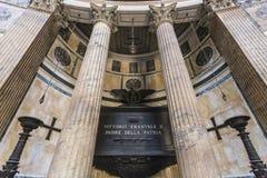 Tomb of Vittorio Emmanuel, Pantheon Stock Image