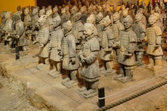 Tomb warrior (Terracotta Army) Stock Photography
