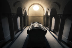 Tomb from World War I. WWI tomb of Romanian soldier Stock Images