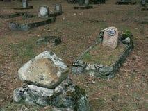 Tomba abbandonata Fotografia Stock Libera da Diritti