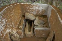 Tomba antica in Colombia immagini stock libere da diritti