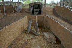Tomba antica in Colombia fotografia stock libera da diritti