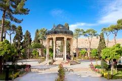 Tomba Aramgah-e Hafez, Iran immagine stock