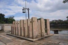 Tomba cinese della tomba del monumento fotografie stock