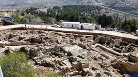 Tomba degli scavi del profeta Samuel Fotografia Stock Libera da Diritti