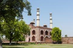 Tomba del Akbar, Agra, India Fotografie Stock Libere da Diritti
