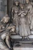 Tomba del cimitero immagini stock libere da diritti