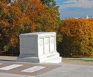 Tomba del cimitero nazionale sconosciuto Arlington Immagini Stock