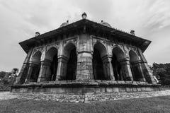 Tomba del giardino del ` s di Isa Khan fotografie stock