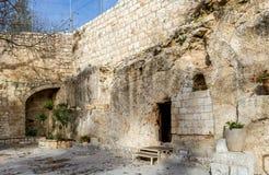 Tomba del giardino, Gerusalemme Immagine Stock Libera da Diritti