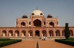 Tomba del Humayun a Delhi Fotografia Stock
