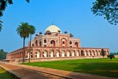 Tomba del Humayun a Delhi immagini stock libere da diritti