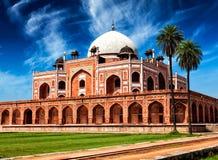 Tomba del Humayun Delhi, India immagine stock