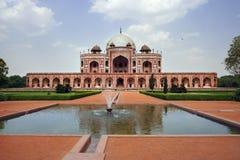 Tomba del Humayun in India immagine stock libera da diritti