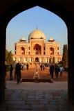 Tomba del Humayun, Nuova Delhi, India Fotografia Stock Libera da Diritti