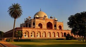 Tomba del Humayun, Nuova Delhi, India immagini stock libere da diritti