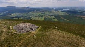 Tomba del passaggio di Seefin contea Wicklow l'irlanda fotografia stock libera da diritti