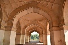 Tomba del ` s di Akbar, Sikandara, Agra, India immagine stock libera da diritti