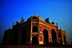 Tomba del `s di Humayun Fotografie Stock Libere da Diritti