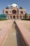 Tomba del `s di Humayun, India fotografia stock