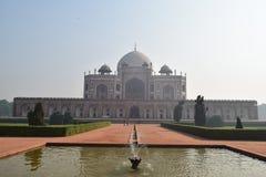 Tomba del ` s di Humayun, Nuova Delhi immagine stock