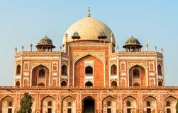 Tomba del ` s di Humayun, un sito del patrimonio mondiale dell'Unesco a Delhi, India fotografie stock