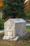 Tomba del sarcofago, Bosnia-Erzegovina Fotografie Stock