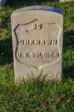 Tomba del soldato sconosciuto Fotografie Stock Libere da Diritti